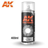 Fine Primer Spray White 400ml (Mukana kaksi suutinta)