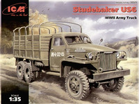 STUDEBAKER US6, WWII ARMY TRUCK 1/35