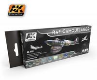 RAF Camouflage Colors (Pakkauksessa 8 sävyä)