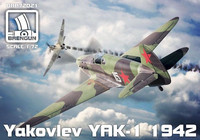 Yakolev Yak-1 Model 1942 1/72