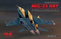 MiG-25 RBT Soviet Reconaissance Plane 1/48
