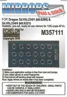 Sd.Kfz.234 /1 /2 /3 /4 Mirrors (Dragon) 1/35
