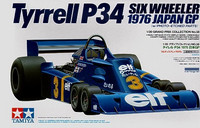 Tyrell P34 Six Wheeler 1976 Japan GP with PE-parts 1/20