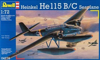 Heinkel He 115 Seaplane (ex Matchbox kit) 1/72