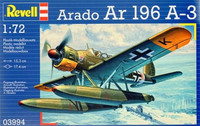 Arado Ar 196A-3 Float Plane 1/72