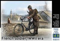 French Soldier WWII Era 1/35
