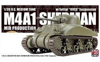 M4A1 Sherman Mid Prod. with Initial VVSS Suspension 1/35