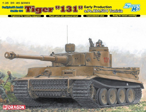 "Tiger I ""131"" s.Pz.Abt.504 Tunisia 1/35"