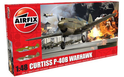 "Curtiss P-40B Kittyhawk ""Flying Shark"" 1/48"