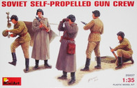 Soviet Self-propelled Gun Crew 1/35