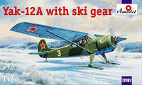 Yakolev Yak-12A with Skis