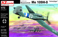 Messerschmitt Bf 109H-0 Höhenjäger 1/72