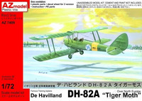 "De Havilland DH-82A ""Tiger Moth"" 1/72"