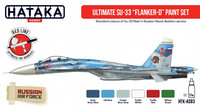"Ultimate SU-33 ""Flanker D"" Paint Set"