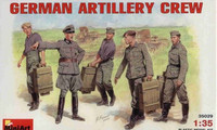 German Artillery Crew 1/35