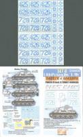 LSSAH PzIV Ausf.G Kharkov Numbers (Set D Paint Mask) 1/35