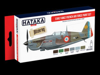 French Air Force Early WWII Paint Set