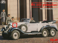 Mercedes G4 Passenger Car (1939 Production) 1/35