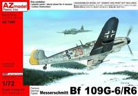 Messerschmitt Bf 109 G-6/R6 1/72