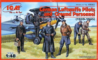 Luftwaffe Pilots & Ground Personnel 1/48
