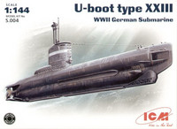 XXIII, WWII German SUBMARINE 1/144