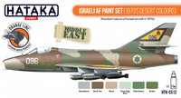 Israeli Air Force ( 70's Desert Colors) Paint Set