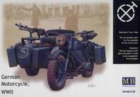 German Motorcycle WWII 1/35