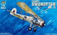 Fairey Swordfish Mk.II WWII Biplane 1/32