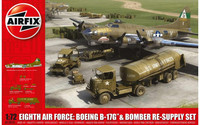 Eight Air Force: B-17G & Bomber Re-Supply Set 1/72