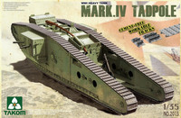 British WW I Heavy Tank Mark IV Tadpole 1/35