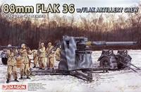 88 MM Flak 36 w/Flak artillery crew 1/35