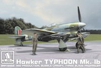 Hawker Typhoon Mk.Ib Mid Production 1/72