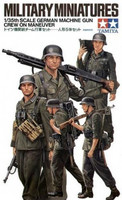 German Machine Gun Crew on Manouver 1/35