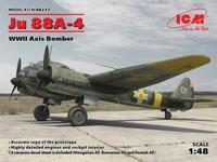 Junkers Ju-88 A4 (Suomalaiset tunnukset kahdelle koneelle) 1/48