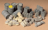 Allied vehicle accessory set 1/35