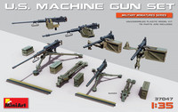 U.S. Heavy Machine Gun Set 1/35