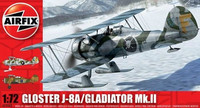 "Gloster Gladiator Mk.II J8A ""New Tooling"" 1/72"