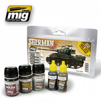 Fury Sherman Set (Limited Edition)