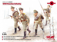 WW I Russian Infantry 1/35