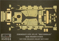 Brummbär Early Prod. Zimmerit (Tristar) 1/35