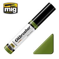 Olive Green Oilbrush