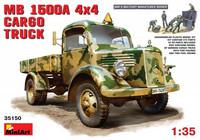 MB L1500 A 4 X 4 Cargo Truck 28€ 1/35