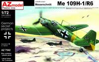 Messerschmitt Bf 109H-1/R6 1/72