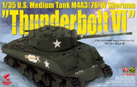 "M4A3 (76) W Sherman ""ThunderboltVI"" 1/35"