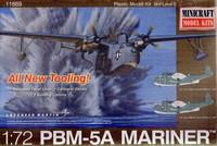 Martin PBM-5A Mariner Flying Boat (All New Tooling) 1/72