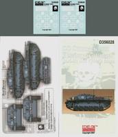 """SS Sturmgeschutz Abteilung """"Totenkopf"""" StuG III C/Ds in Russia 1/35"""