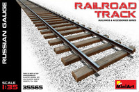 Railway Track Section, Russian Gauge 1/35