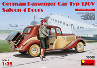 German Passenger Car Typ 170V Saloon 4 Doors 1/35