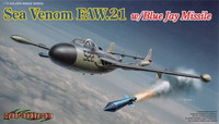 de Havilland Sea Venom FAW.21 with Blue Jay Missiles 1/72
