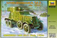 BA-3 Soviet Armored Car 1/35